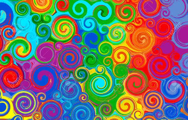 40 Abstract Rainbow Patterns Free Sample Example Format Free Beauteous Rainbow Pattern