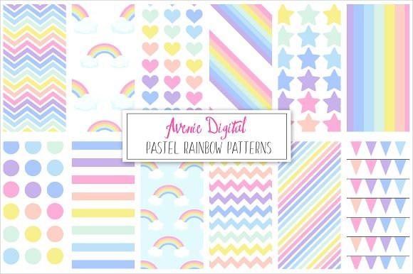 pastel-rainbow-pattern