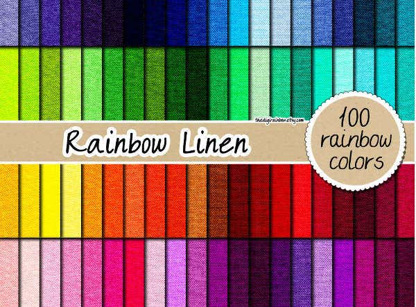 rainbow-fabric-pattern