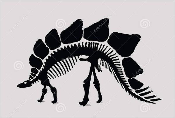 dinosaur-skelton-silhouette