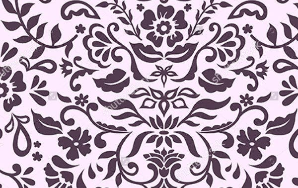 damask-floral-pattern