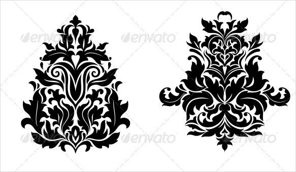 vintage-damask-pattern-design
