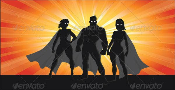 superhero-silhouette-vector