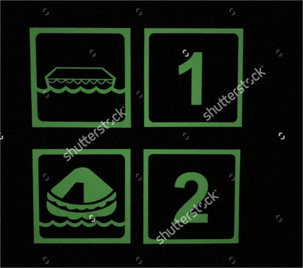 Boat Number Stickers