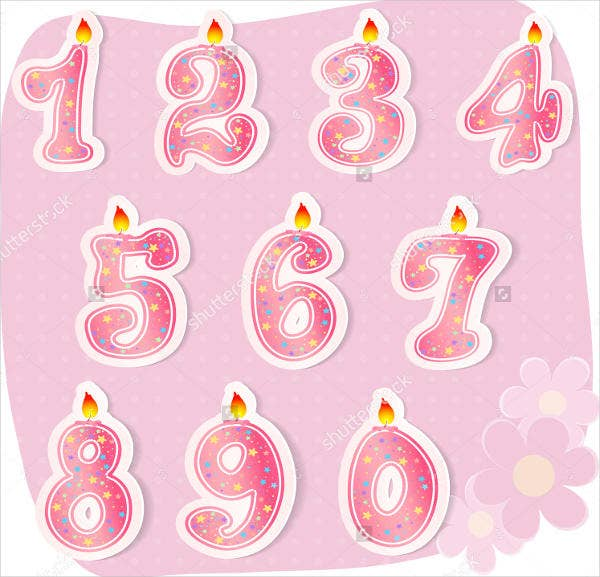 pink number stickers1
