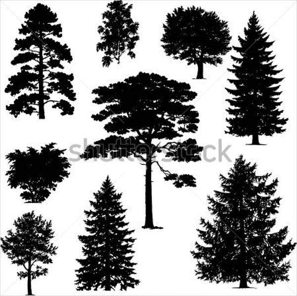 free-vector-pine-tree-silhouette