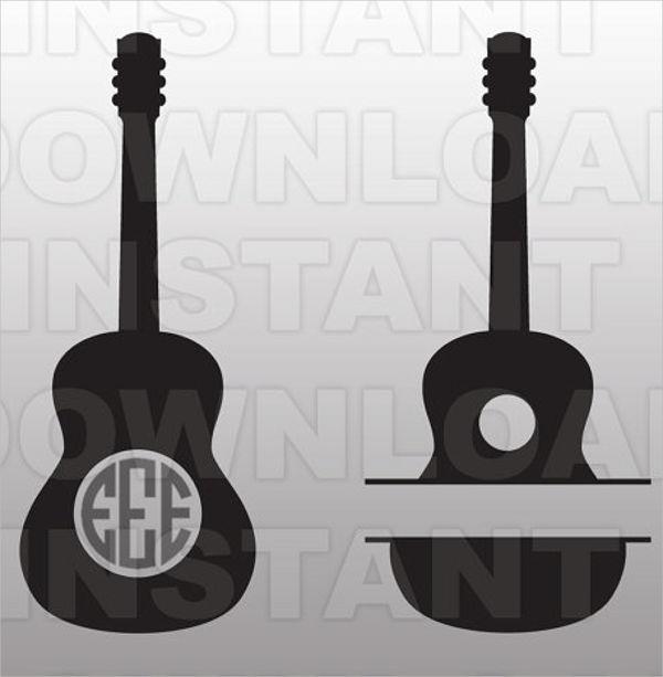 vector-guitar-template