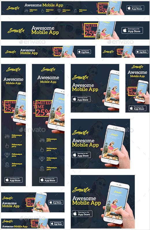 mobile-web-app-template