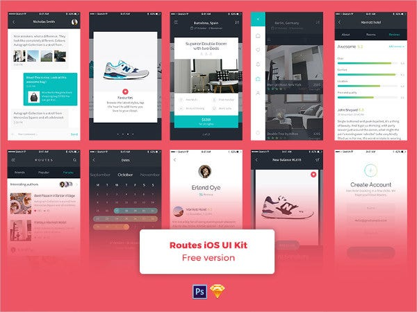 free-mobile-app-template