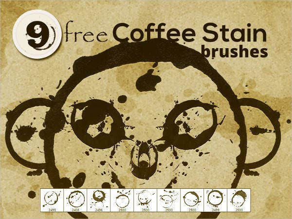 coffee-stains-photoshop-brushes