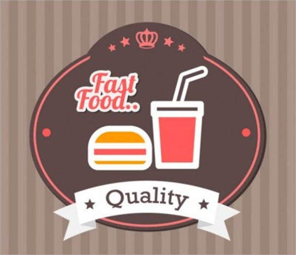 food-label-vector-set