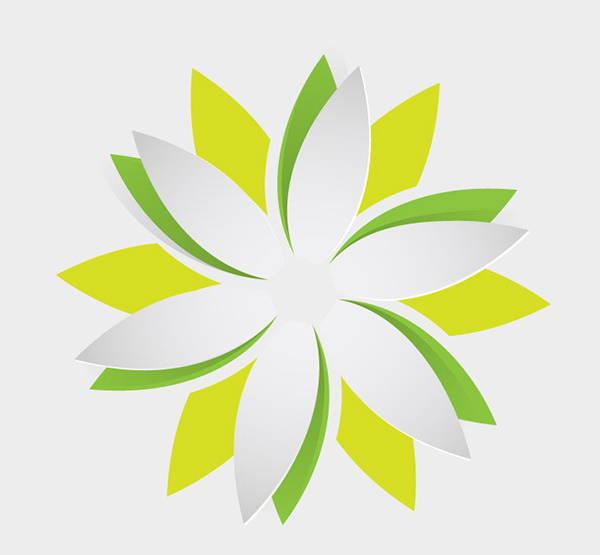 flower-origami-vector