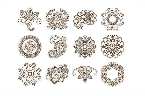 ethnic ornament brushes photoshop