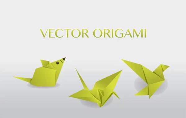 origami-vector-art