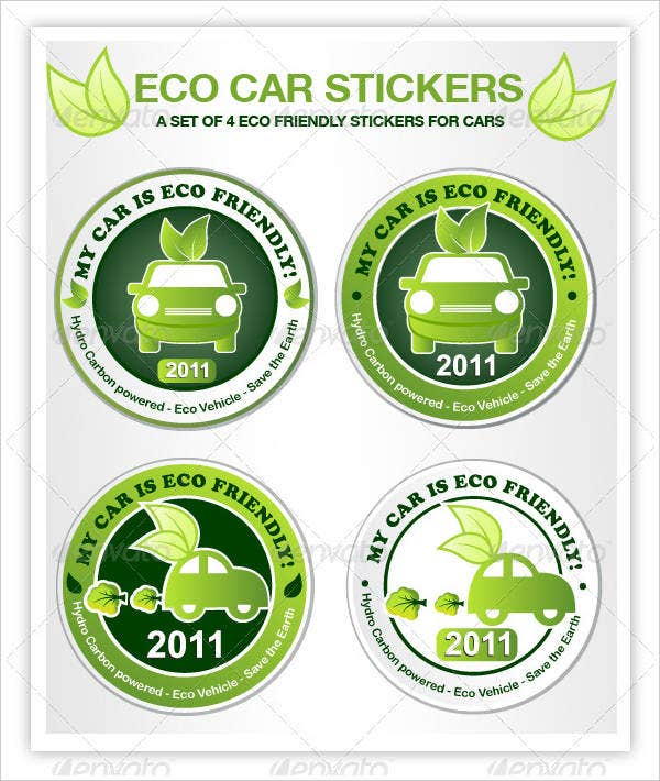 eco-car-stickers
