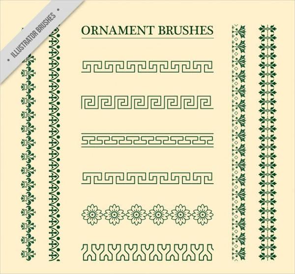 ornament-vintage-brushes