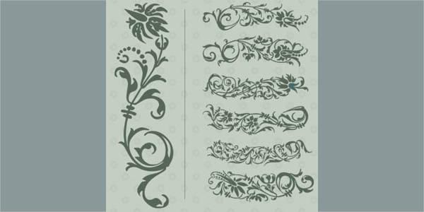 ornament-flower-brushes