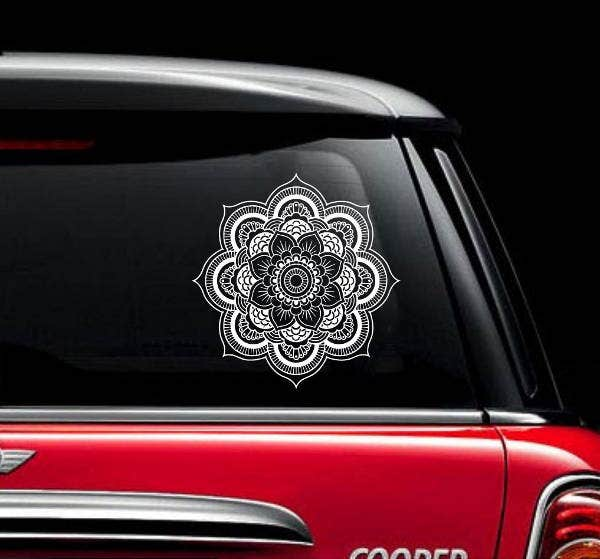 6  decal stickers