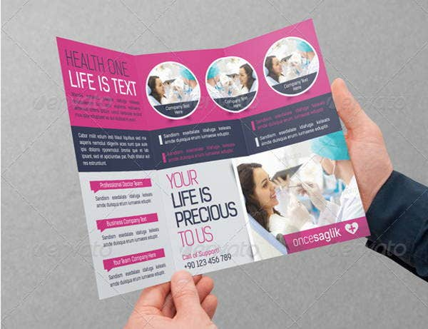 health-trifold-template
