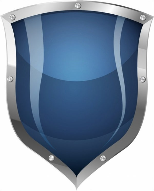 blank shield logo