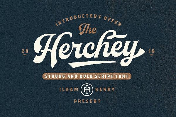 Vintage Hershey Logo