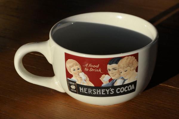 Hershey Logo on Coffee Cup