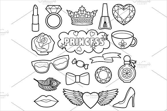 princess-coloring-pages
