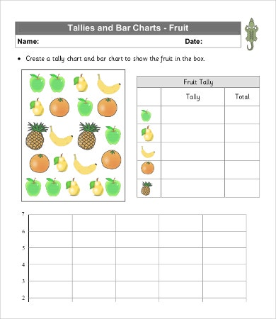 Tally Chart Template - 8 +Free Word, Pdf Documents Download | Free