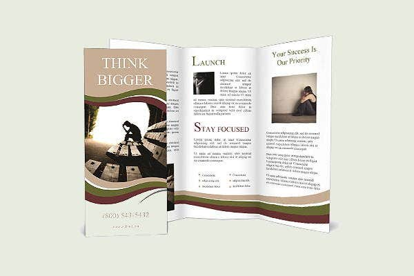 6+ Depression Brochures - Printable PSD, AI, InDesign, Vector EPS ...