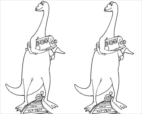 dinosaur train coloring page1