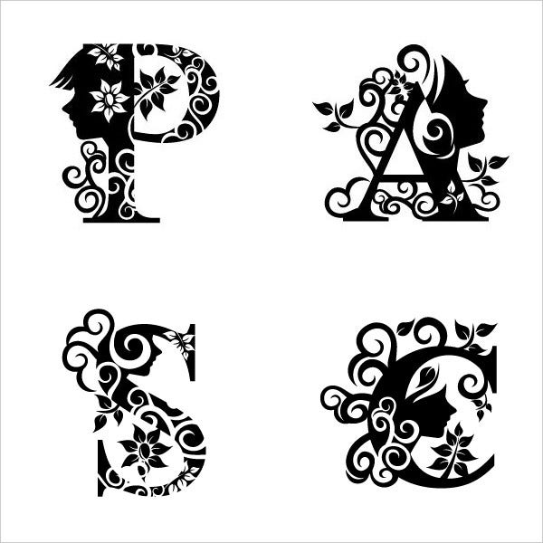 Black And White Clip Art Design