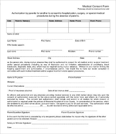 Parent Consent Forms Parentalconsentforstudentpermit Parental