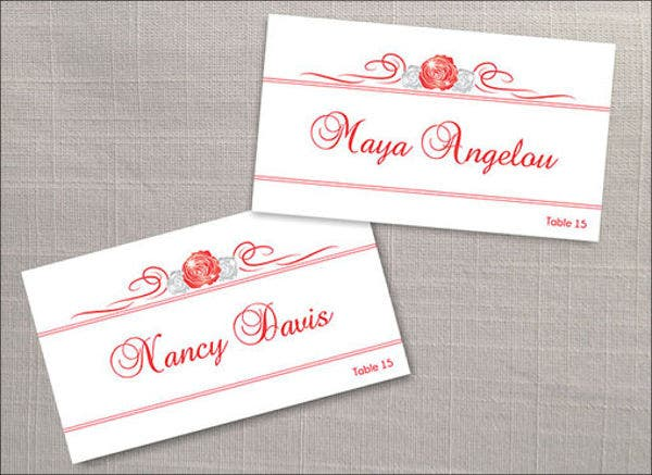 Name Tag Templates Word Free PSD AI Vector EPS Format - Wedding name tag template