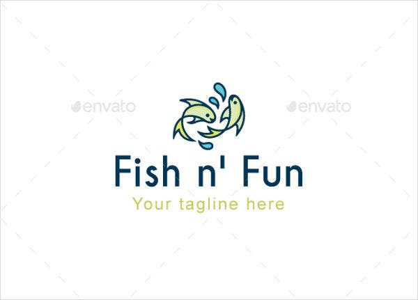 Fish Shape Template