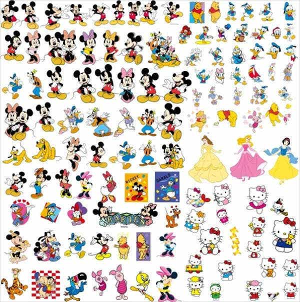 disney stickers1
