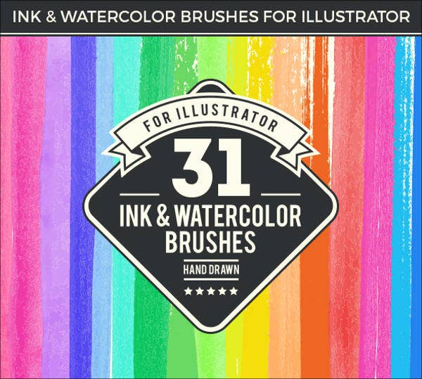 9+Watercolor Brushes,Free PSD, Vector AI, EPS Format Download | Free