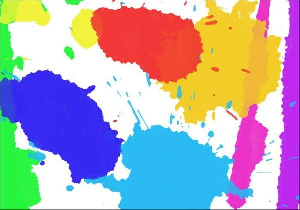 watercolor drip brushes