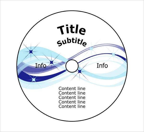 Cd Label Template  Free Psd Vector Ai Eps Format Download