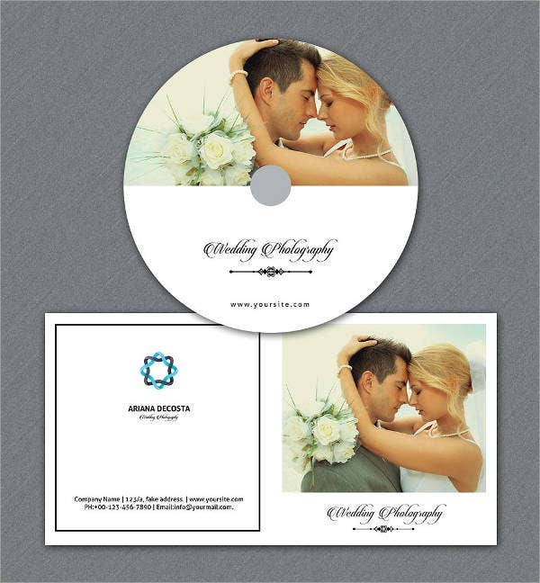 Photoshop CD Label Template