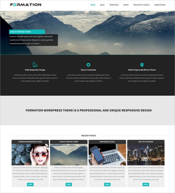 Professional Business WordPress Theme