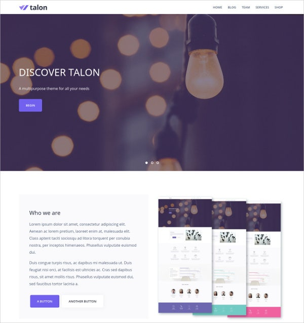 Multipurpose Business WP Theme