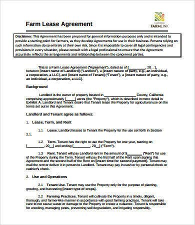 Simple Lease Agreement   Free Pdf Word Documents Download