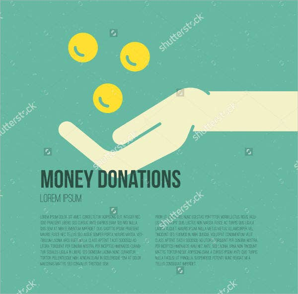 money donation flyer