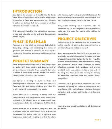 Website Design Proposal   Free Word Pdf Documents Download