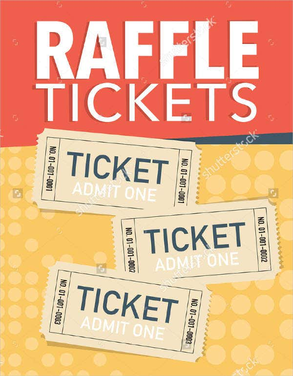 Vector Raffle Ticket