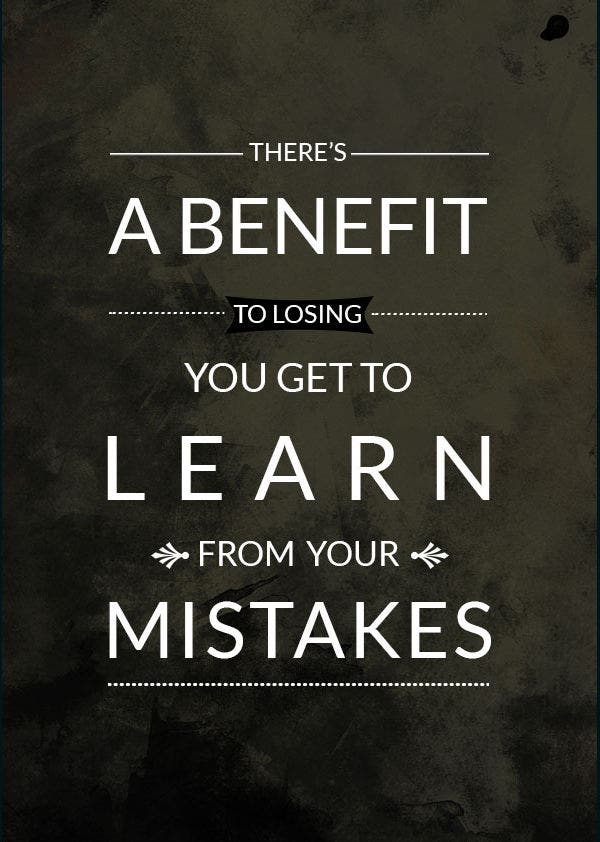 Quote Poster About Megamind