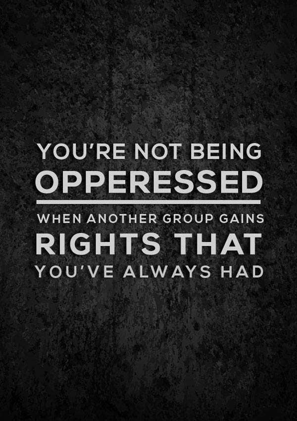 Quotation Poster on Oppression