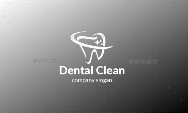 dental cleaning logo