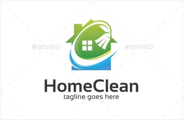 9  examples of cleaning logos