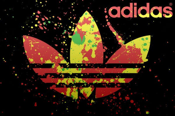 Colorful Adidas Logo